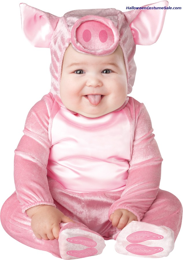 THIS LIL PIGGY INFANT COSTUME