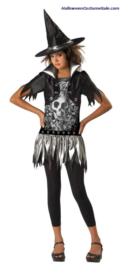 GOTHIC WITCH CHILD COSTUME