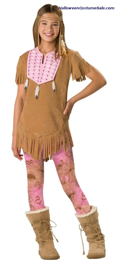 Sassy Squaw Child Costume