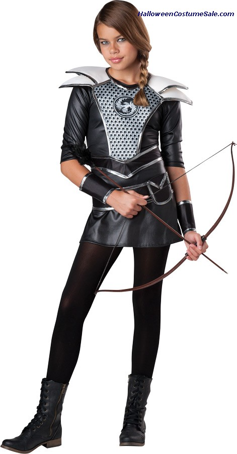 MIDNIGHT HUNTRESS CHILD COSTUME