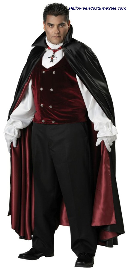 GOTHIC VAMPIRE ADULT COSTUME - PLUS SIZE