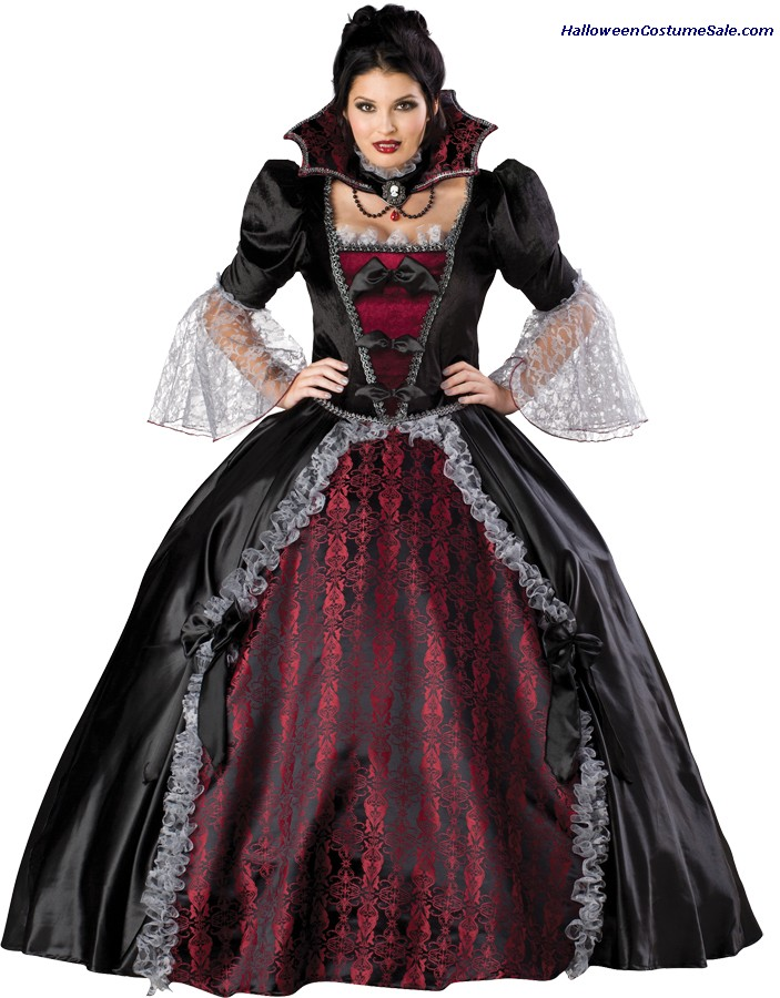 VAMPIRESS OF VERSAILLES GB PLUS SIZE COSTUME