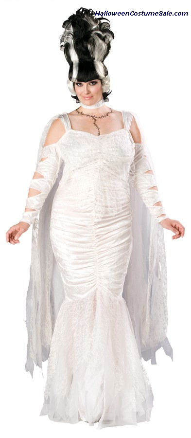 MONSTERS BRIDE PLUS SIZE COSTUME