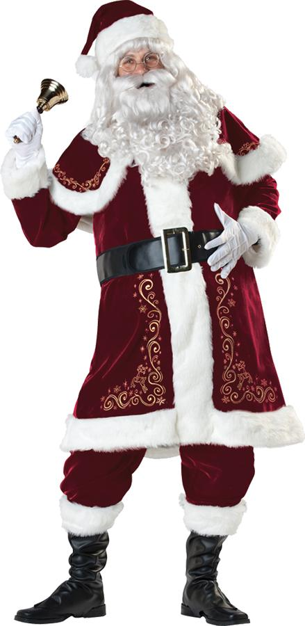 JOLLY OL ST NICK PLUS SIZE ADULT COSTUME