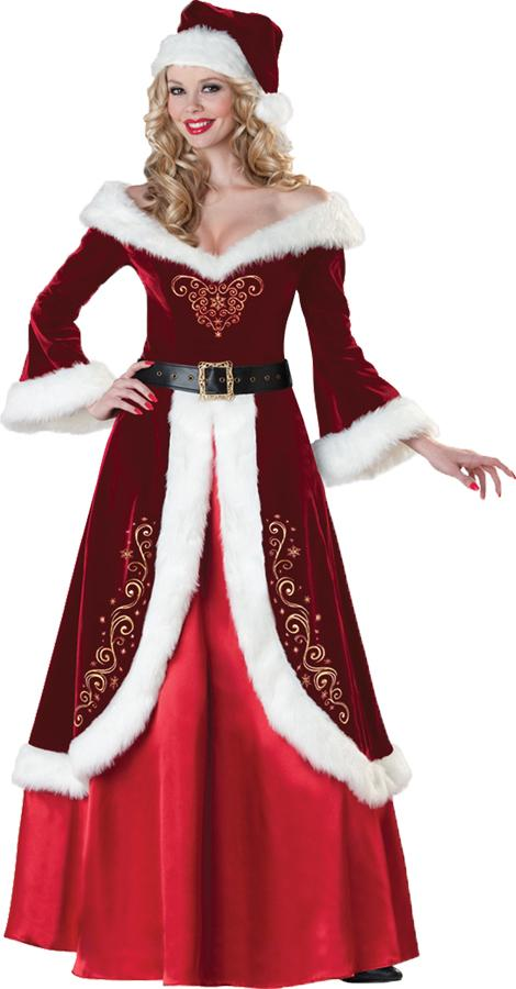 MRS ST NICK ADULT COSTUME