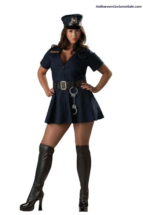 Officer Naughty Adult Costume - Plus Size