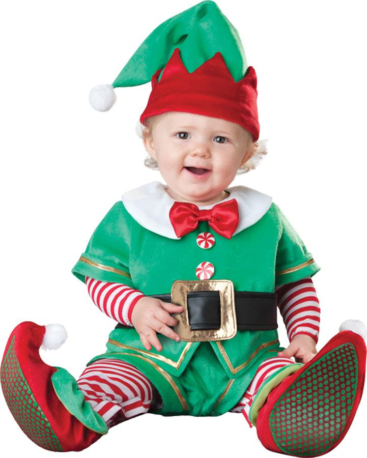 SANTAS LIL ELF TODDLER COSTUME