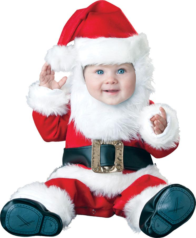 SANTA BABY TODDLER COSTUME
