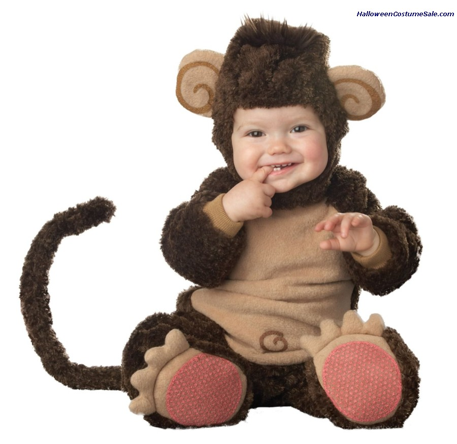 LIL MONKEY LIL CHARACTER TODDLER COSTUME - VERY CUTE!