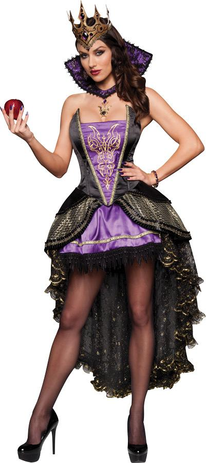EVIL QUEEN ADULT COSTUME