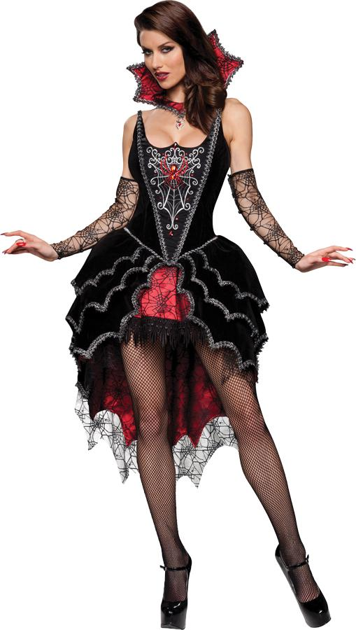 WEBBED MISTRESS ADULT COSTUME