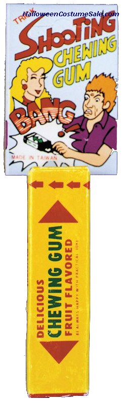 SHOOTING PACK OF GUM