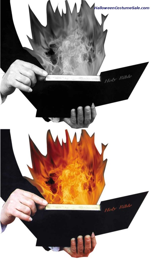 Burning Book Magic