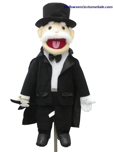 Mind Reading Magician Puppet