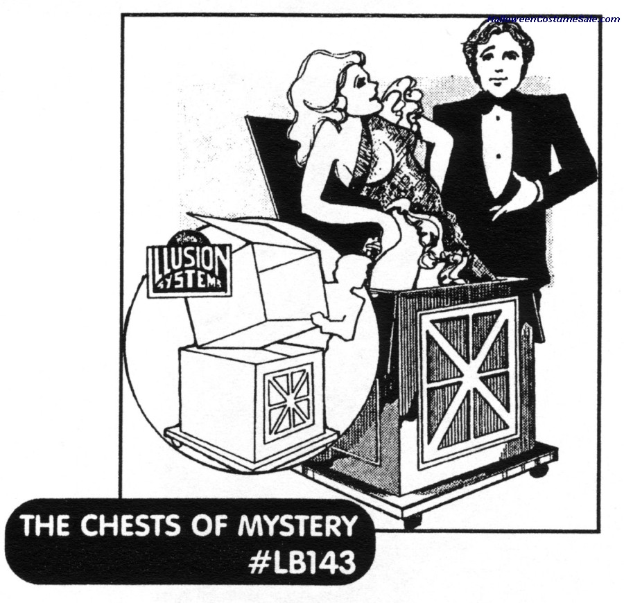 CHEST OF MYSTERY ILLUSION PLAN