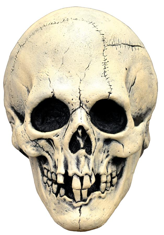 NIGHTOWL SKULL WHITE LATEX MASK