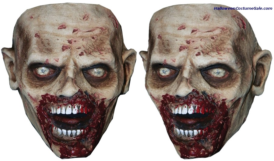 WALKING DEAD BITER WALKER ADULT FACE MASK