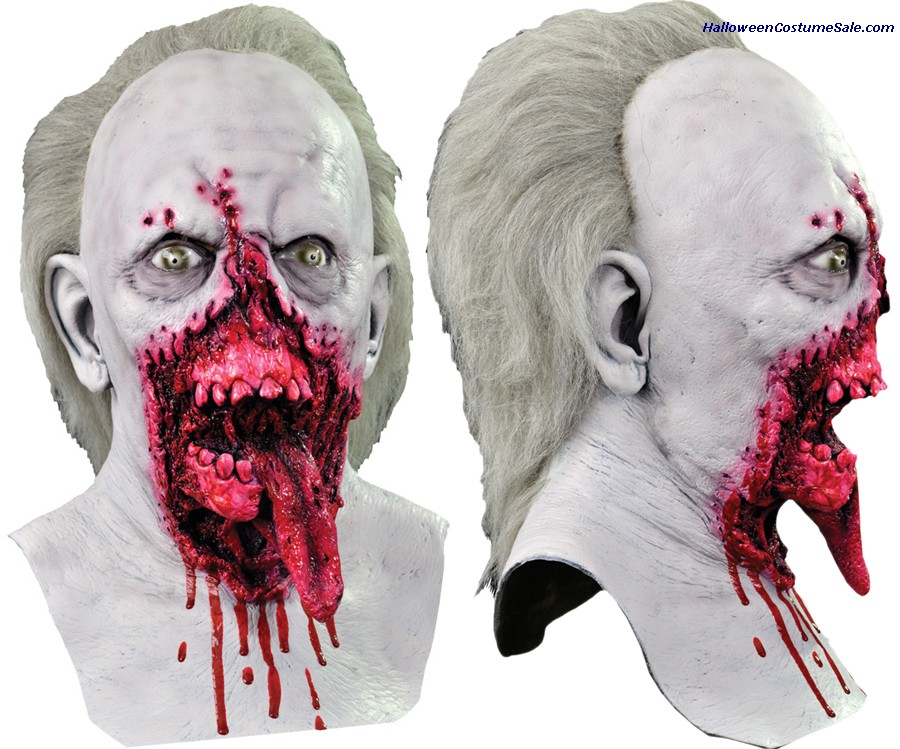 DAY OF THE DEAD DOCTOR ADULT TONGUE LATEX MASK