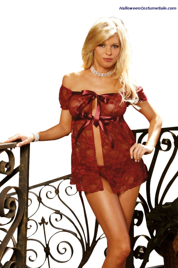 Lace Babydoll With Panty
