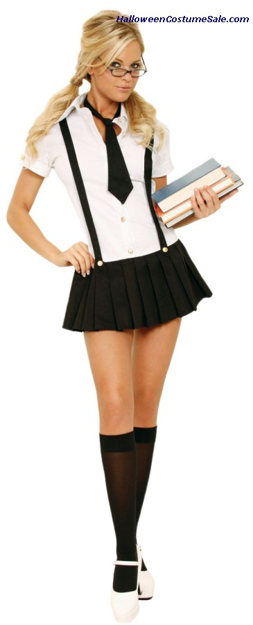 BUSINESS SCHOOL GIRL - ADULT COSTUME