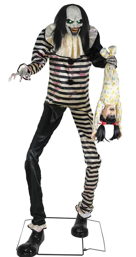 SWEET DREAMS CLOWN 7FT ANIMATED PROP