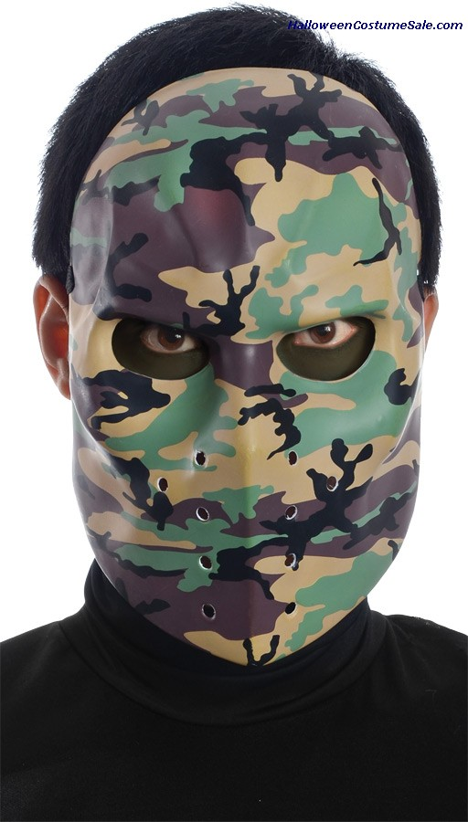 CAMO HOCKEY ADULT MASK
