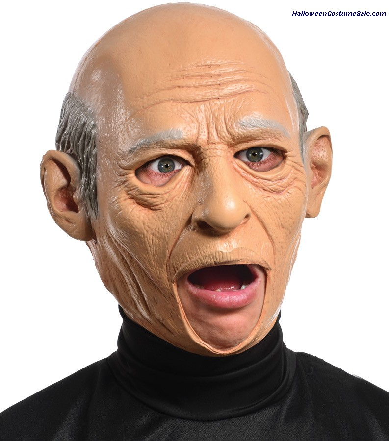 OLD MAN ADULT LATEX MASK