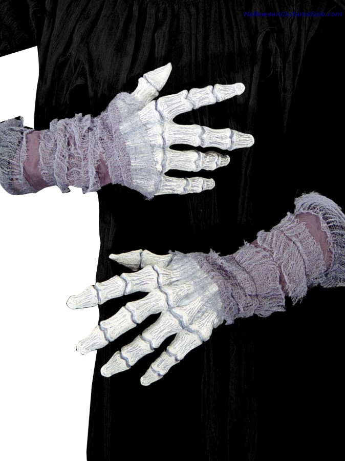 Ghastly Bone Hands with Gauze
