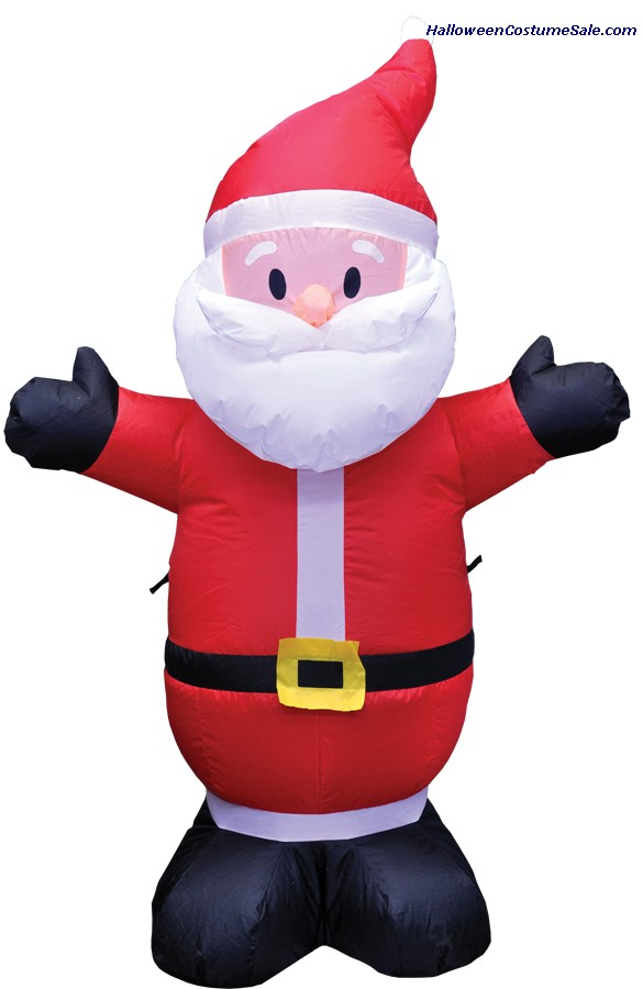 4FT SANTA INFLATABLE PROP