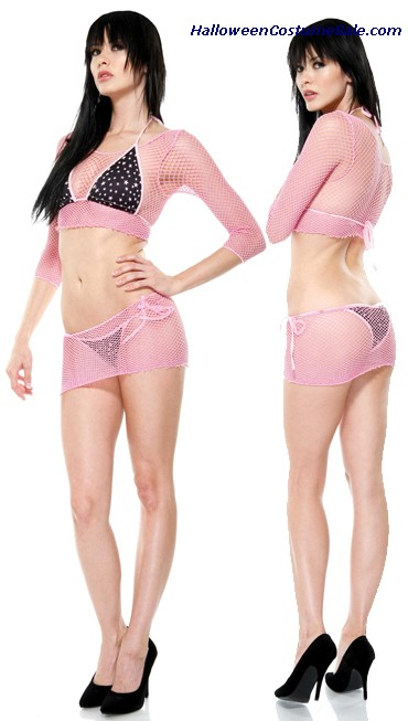 TRIANGLE BRA SET ADULT COSTUME