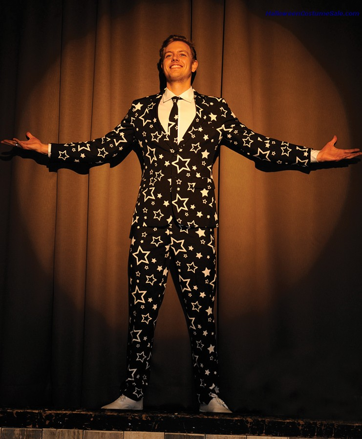 STARRING SUIT ADULT COSTUME