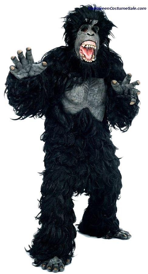 GORILLA HAIRY ADULT COSTUME