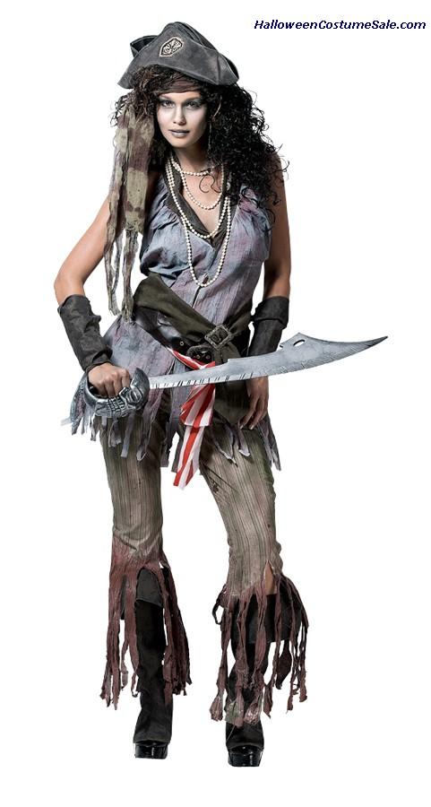 SHIP WRECK SALLY WOMENS ADULT COSTUME