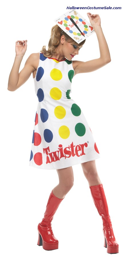 TWISTER WOMENS ADULT COSTUME