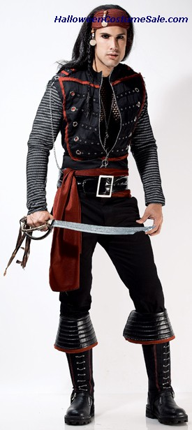IGWT THE ROCKSTAR PIRATE ADULT COSTUME