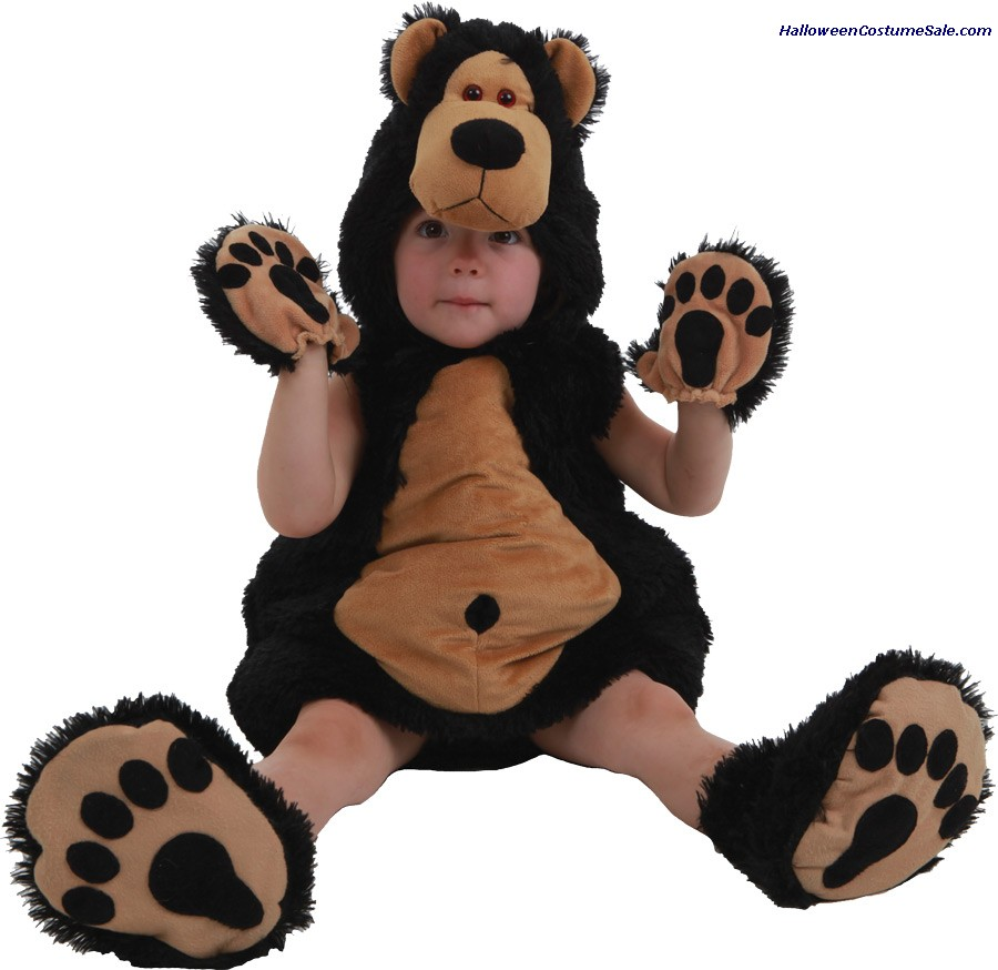 BRUCE THE BEAR INFANT COSTUME
