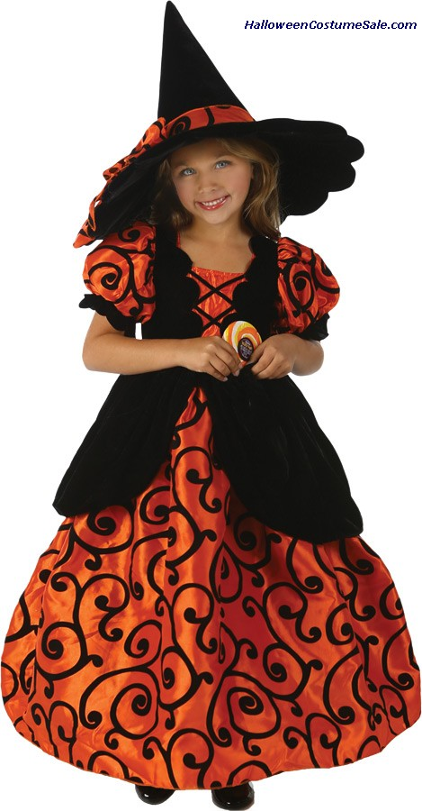 SHIRLEY POCKET WITCH CHILD COSTUME