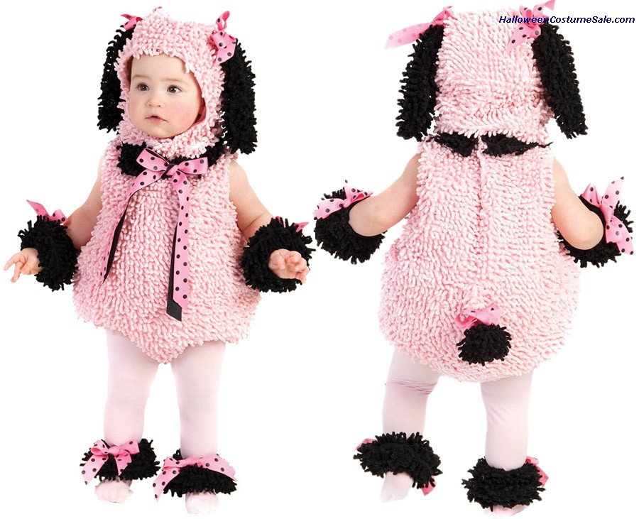 PINKIE POODLE INFANT TODDLER COSTUME