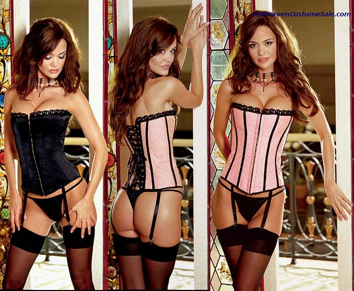 REVERSIBLE CORSET ADULT COSTUME