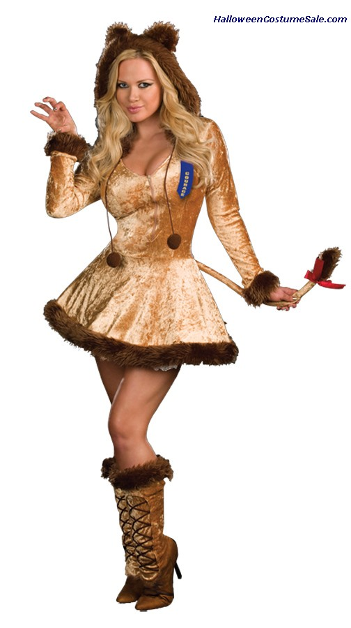COURAGEOUS LION CUTIE ADULT COSTUME