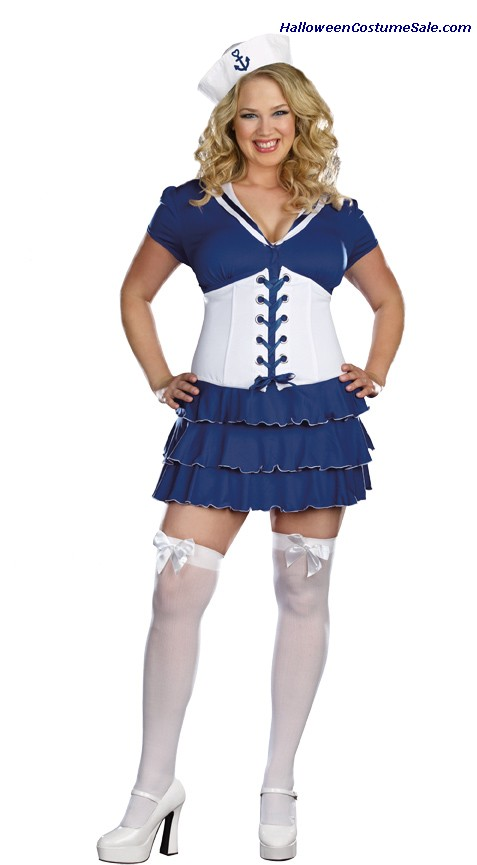 SHES ON SAIL PLUS SIZE COSTUME