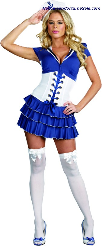 SHES ON SAIL ADULT COSTUME