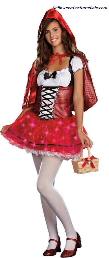 LITTLE RED DELIGHT TEEN COSTUME
