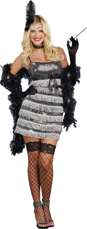 SPEAK EASY VIXEN ADULT COSTUME