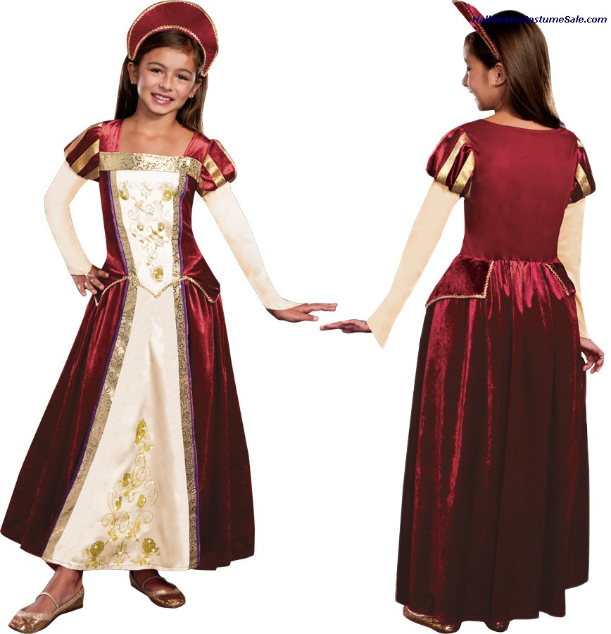 ROYAL MAIDEN CHILD COSTUME