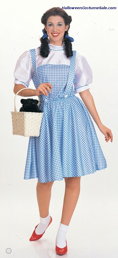 WIZ OF OZ DOROTHY TE/AD COSTUME
