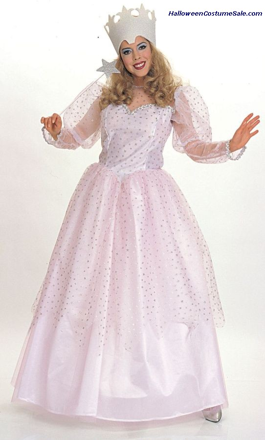 WIZ OF OZ GLINDA ADULT COSTUME