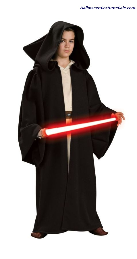HOODED DELUXE SITH ROBE FOR CHILD