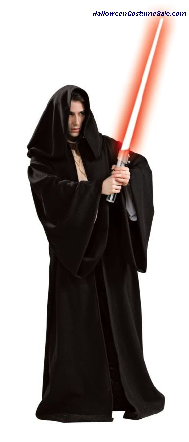 HOODED DELUXE SITH ROBE FOR ADULTS