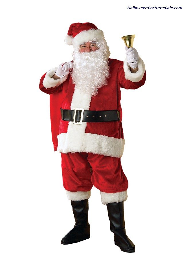 SANTA PREMIER SUIT ADULT COSTUME